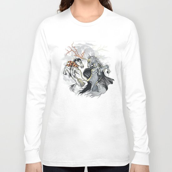 Retold with Unicorns II Long Sleeve T-shirt