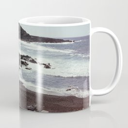 Boats on a beach Coffee Mug
