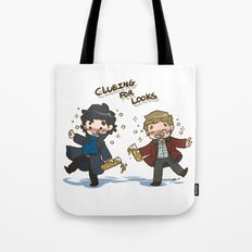BBC Sherlock - Clueing for Looks Tote Bag
