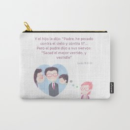 "Lucas 15:21 ""Pero el padre dijo..."" Carry-All Pouch"