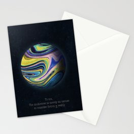 Parallel Planet Stationery Cards