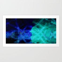 Summer Blue Art Print