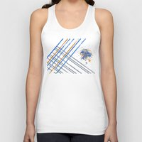 grid Tank Tops featuring Grid by Last Call
