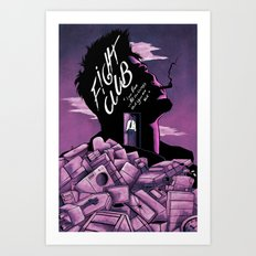 FightClub Art Print