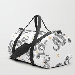Snake Zentangle Duffle Bag