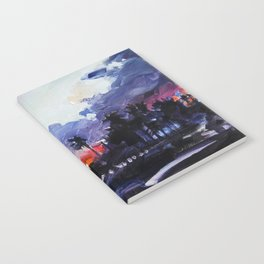 Purple Sunset Notebook