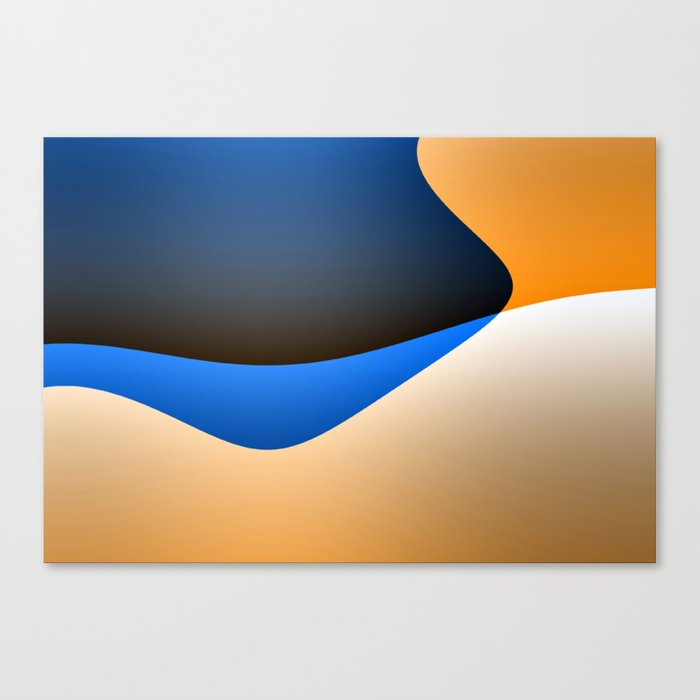 Abstract I #decor #society6 Canvas Print