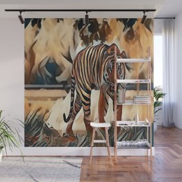 The Bengal Tiger Wall Mural