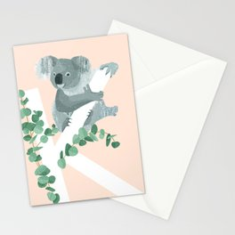 K - Koala Stationery Cards