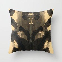 Cute Blot Throw Pillow