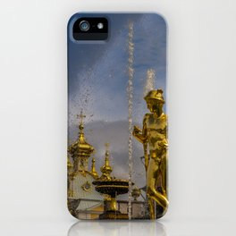 Peterhof palace iPhone Case