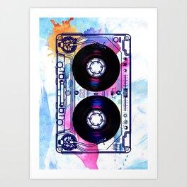 Old School New DJ Art Print