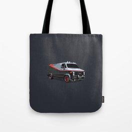 The A Team van illustration Tote Bag