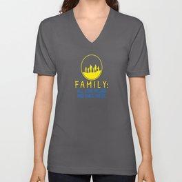 Family Saying Love Unisex V-Neck