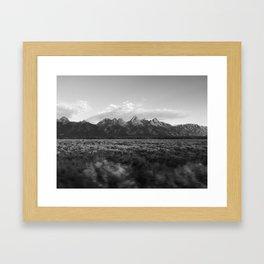 Grand Teton National Park Drive By Framed Art Print
