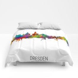 Dresden Germany Skyline Comforters