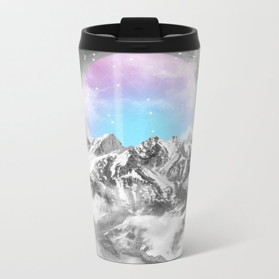 It Seemed To Chase the Darkness Away II Metal Travel Mug