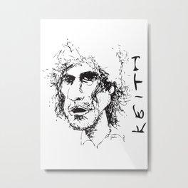 KRFace - M Metal Print