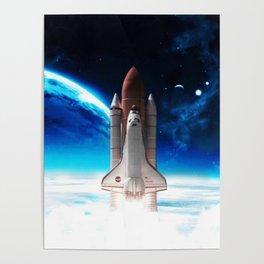 NASA Rocket Poster
