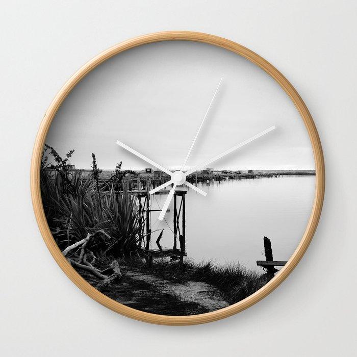 Whitebaiting Wall Clock