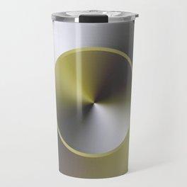 Serene Simple Hub Cap in Sepia Travel Mug