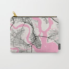 Charleston - United States Neapolitan City Map Carry-All Pouch