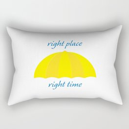 Ted Mosby - Right Place Right Time Rectangular Pillow