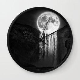 MoonFall Wall Clock