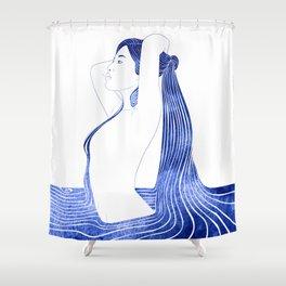 Eulimene Shower Curtain