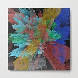 Abstract 123 Metal Print