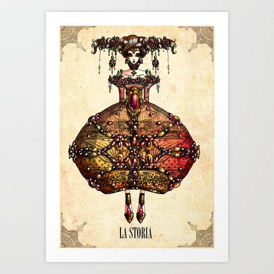 LA STORIA Art Print