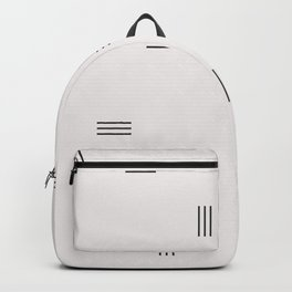 stripe Backpack