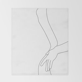 Intimacy Throw Blanket