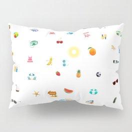 Summer Vacation Pillow Sham