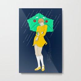 "Salt ""Girl"" Reigen Arataka Metal Print"