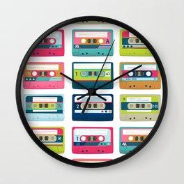 Mixtape Monday Wall Clock