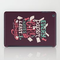 paper towns iPad Cases featuring Paper Towns: Paper Girl by Risa Rodil