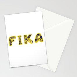 Fika- Folk style Stationery Cards