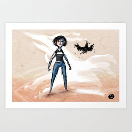 Use Verb on Noun #30: The Longest Journey Art Print