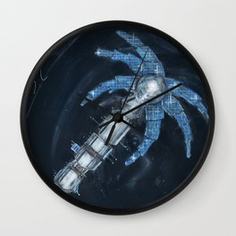 Palmetto Space Station Wall Clock