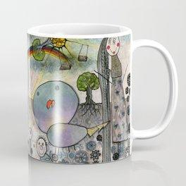 """Birds"" illustration Coffee Mug"