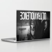 ultraviolence Laptop & iPad Skins featuring ULTRAVIOLENCE GIRL. by Beauty Killer Art