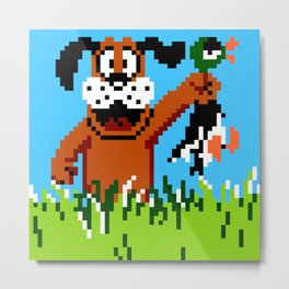 Duck Hunt Metal Print