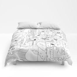 Vomiting Girls 1 Comforters