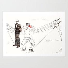 Oh Bucky Art Print