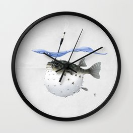 Take It Outside! (Wordless) Wall Clock