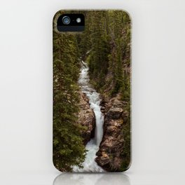 Rushing Judd Falls iPhone Case
