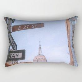 New York E 27 street Rectangular Pillow