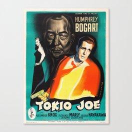 Tokyo Joe - Vintage 1949 Film Noir Poster Canvas Print
