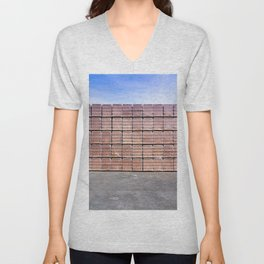 Another Brick For The Wall Unisex V-Neck